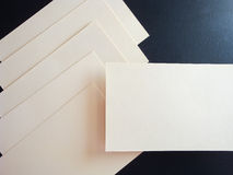 Square Flyer. Letterheads template. Changeable background . Flat lay. Flat design Royalty Free Stock Photos