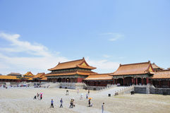 Square of the Forbidden City Royalty Free Stock Photos