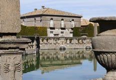 Square Fountain Lazio, Italy. Stock Photography