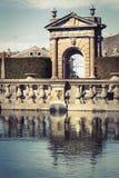 Square Fountain Lazio, Italy. Royalty Free Stock Photo