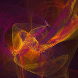 Square fractal background Royalty Free Stock Photos