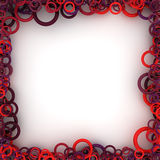 Square frame Stock Image