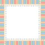 Square frame Royalty Free Stock Image