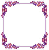 Square  frame with free space for your text. Royalty Free Stock Photos