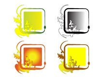 Square frames Stock Photo
