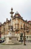 Square in front of Bernardine Church, Lviv, Ukraine Royalty Free Stock Photo