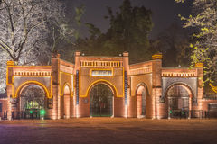 The square in front of the Dujiangyan gate Stock Photography