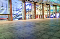 The square in front of the modern architecture Royalty Free Stock Photography