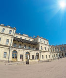 Square in front of the palace. Gatchina. St. Petersburg. Russia Royalty Free Stock Photo