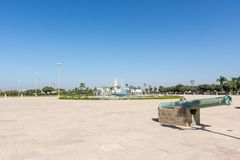 Square in front of Royal Palace, Rabat. Morocco Royalty Free Stock Image