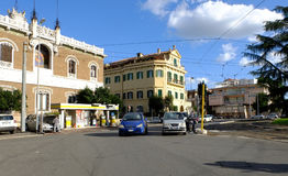 Square Galeno in Rome. Square Galeno view in Rome historic center Stock Images