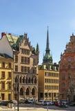 Square in Gamla Stan, Stockholm Stock Image