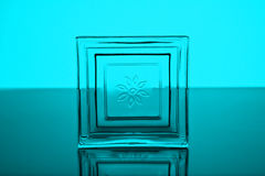 Square of glass Royalty Free Stock Photos