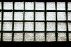 Square glass blocks Stock Images