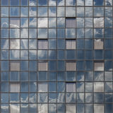 Square glass facade Royalty Free Stock Image