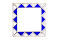 Square Glass Picture Frame stock images