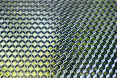 Square glass texture Royalty Free Stock Photos