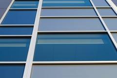 Square glass windows office building skyscraper stock images