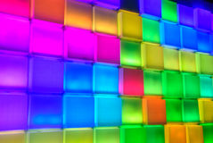 Square glow Royalty Free Stock Photography