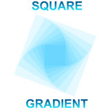 Square Gradient. Blue Square Gradient Vector EPS Royalty Free Stock Photography