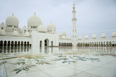 The square of Grand Mosque Stock Images