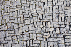 Square granite stones Royalty Free Stock Image