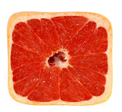 square grapefruit Royalty Free Stock Photography
