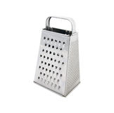 Square grater. Made from stainless steel Stock Photography