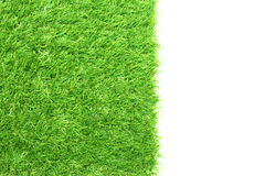 Square of green grass field Stock Photos