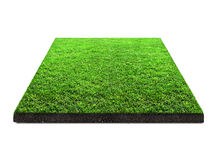 Square   green grass Stock Photos
