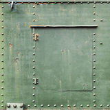 Square green industrial metal background Royalty Free Stock Images