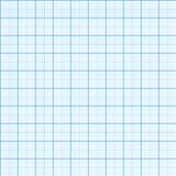 Square grid seamless pattern. Vector illustration. Millimeter engineering paper background Royalty Free Stock Photography