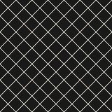 Square grid vector seamless pattern. Subtle dark checkered repeat background, simple design. Square grid vector seamless pattern. Abstract geometric black and stock illustration