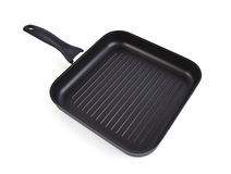Square grill pan Royalty Free Stock Photo