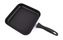 Square grill pan Stock Photo