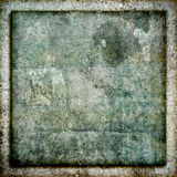 Square Grunge Stone Frame Texture Background. Highly detailed stone or rock wall style grunge texture background frame image in a square aspect ratio Royalty Free Stock Photos