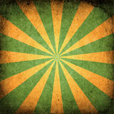 Square Grunge Sunburst Stock Images