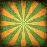 Square Grunge Sunburst Stock Images
