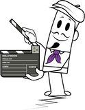 Square guy-Director Stock Images