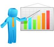 Square guy - Presentation Stock Photography