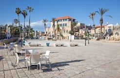 The square h in old Jaffa (Kikar Kdumim street) in Tel Aviv. Stock Photo