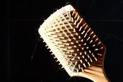 Square hair brush Royalty Free Stock Image