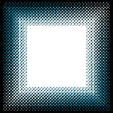 Square halftone pattern Stock Image
