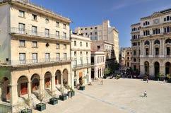 Square in Havana, Cuba Stock Image