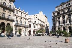 Square Saint Francis of Assisi, Havana, Cuba Royalty Free Stock Photography