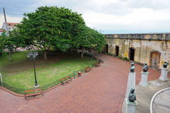 Square in the historic district of Panama City Royalty Free Stock Photography