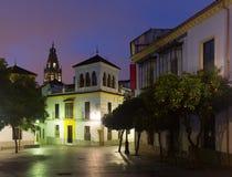 Square at historical part of  Cordoba Stock Image