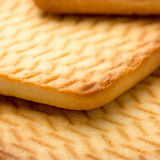 Square homemade cookies Stock Photography