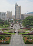 Square at Hubei Provincial Museum Stock Photos