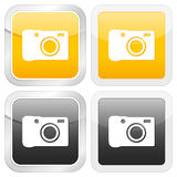 Square icon photo Stock Photos
